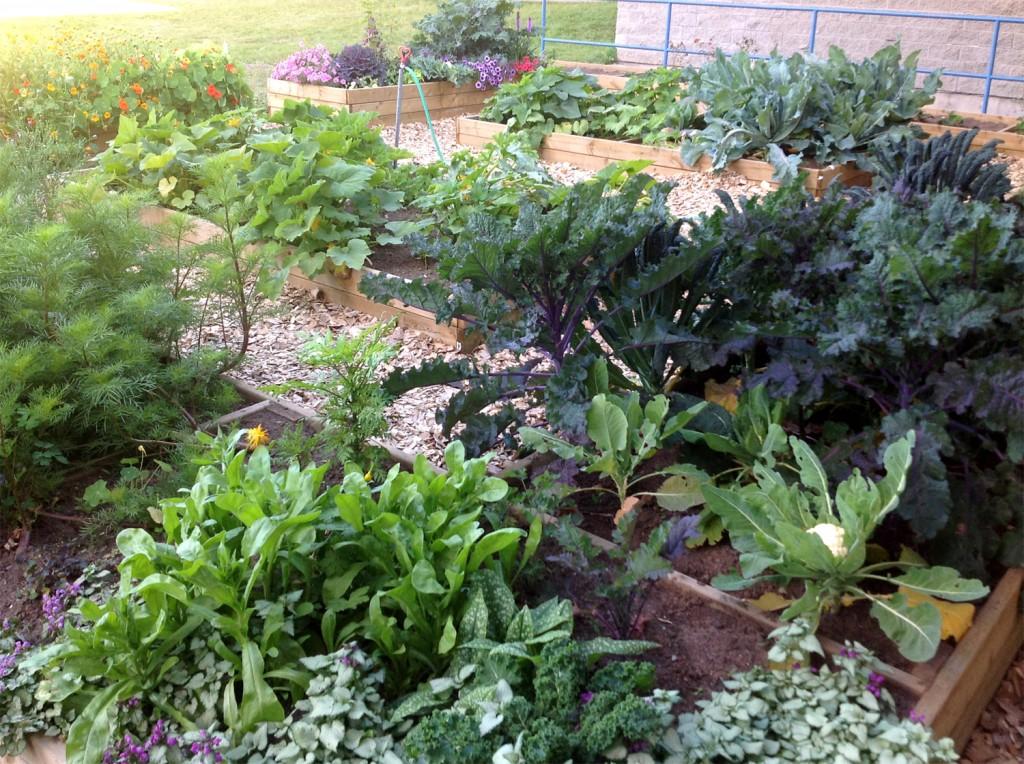 Bulkley Valley Christian School Garden Maze