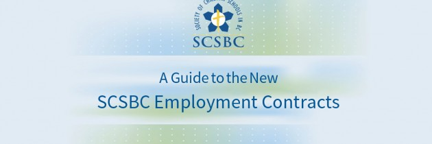 SCSBC Employment Contracts