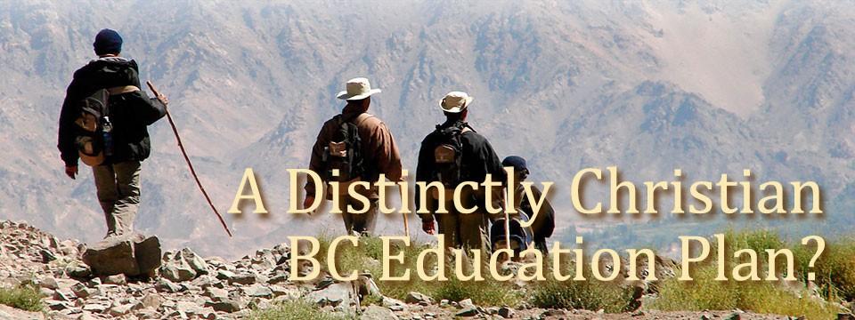 A Distinctly Christian BC Education Plan?