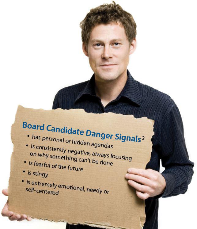 Board Candidate Danger Signals