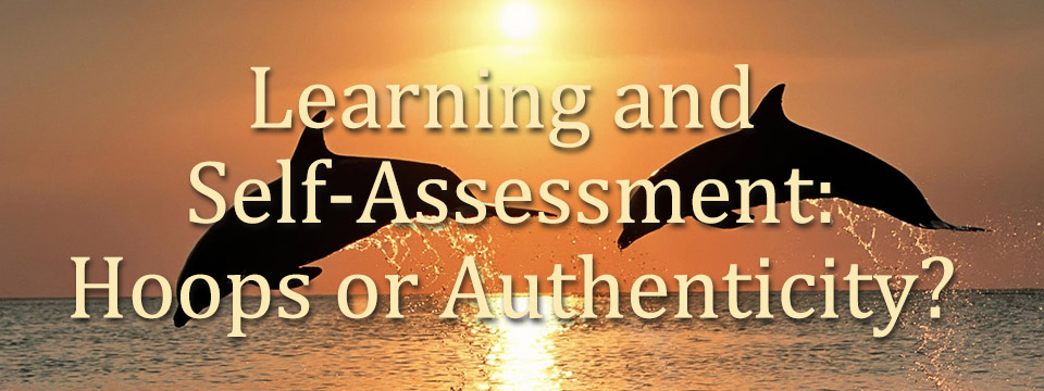 Learning and Self-Assessment: Hoops or Authenticity?