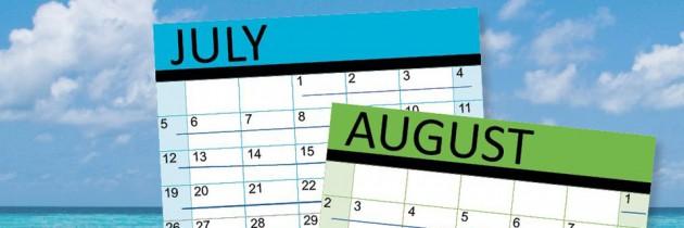 An Extra Week of Summer Holidays!