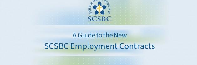SCSBC Employment Contracts